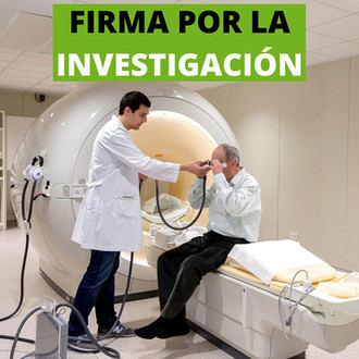 Firma para que la investigación del Alzheimer no pare