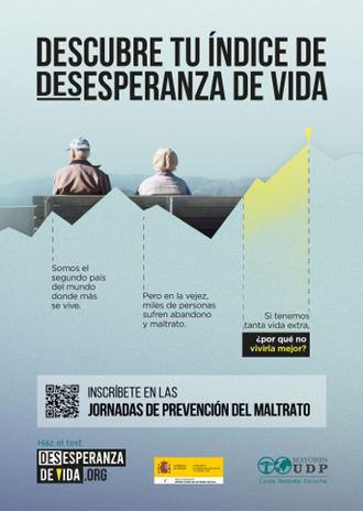 Unión Democrática de Pensionistas y Jubilados de España ponemos en marcha el indicador social de la desesperanzadevida.org