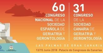 60º congreso de la Sociedad Española de Geriatría y Gerontología.