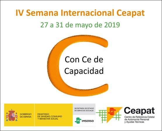 Visto en Internet. IV Semana Internacional del Ceapat. 27 a 31 de mayo de 2019