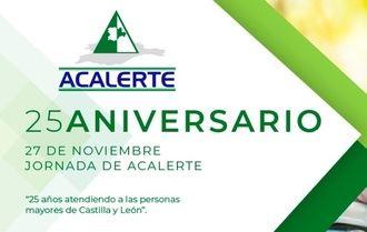 ACALERTE celebra 25 años de atención a las personas mayores con una jornada que reunirá a 400 especialistas del sector