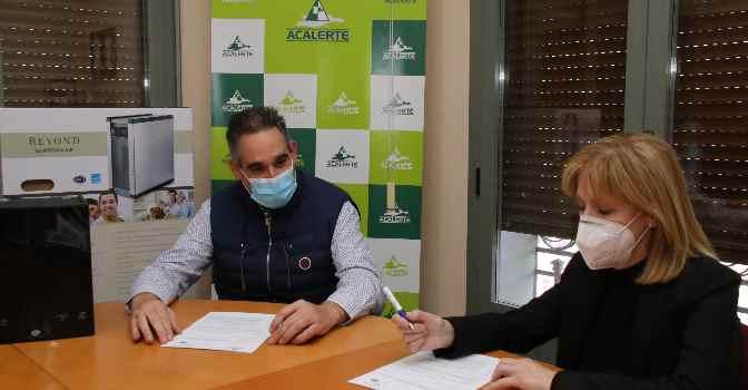 Acalerte y H2Vital distribuirán purificadores de aire en residencias de mayores