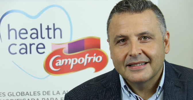 """Alberto Ferreira: """"Hemos adaptado la cocina casera española a las necesidades de personas con problemas de deglución"""""""