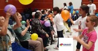 Grupo Amavir refuerza el vínculo intergeneracional
