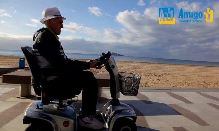 ONG Guía Mayores y Amigo 24, unidos por la movilidad para todos