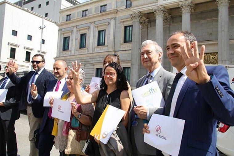 Asociaciones estatales de mayores aplauden la aprobación definitiva de la equiparación del IVA con los Presupuestos del Estado
