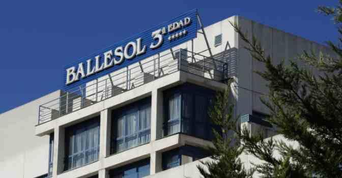 Ballesol abrirá su nueva residencia para mayores en Reus (Tarragona). En la imagen, uno de los centros del Grupo.