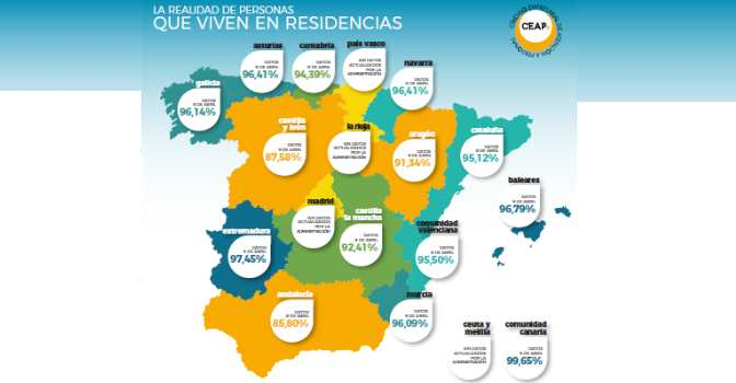 CEAPs publica la otra cara del coronavirus en residencias de mayores: cuántos usuarios no se han infectado.
