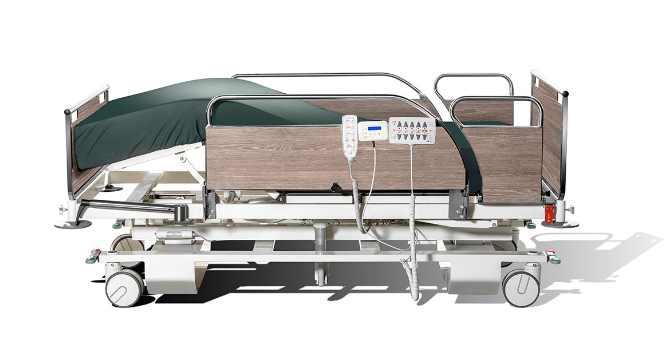 La Cama BJ-CL1 de BJ Adaptaciones realiza micromovimientos automáticos para mover al usuario sin que lo note y evitar ulceración.