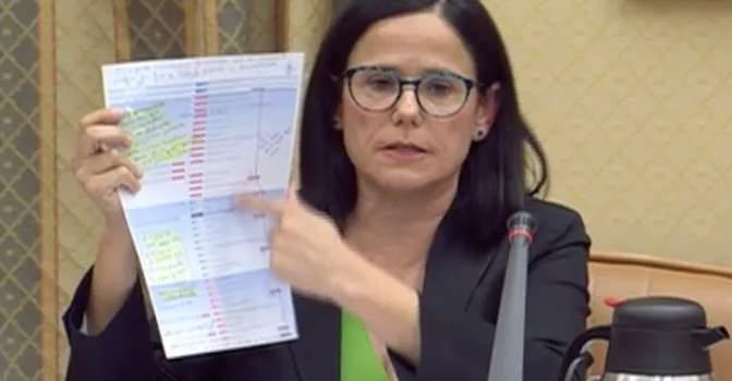 Cinta Pascual comparece en el Congreso para relatar el drama vivido en residencias de mayores por el coronavirus.