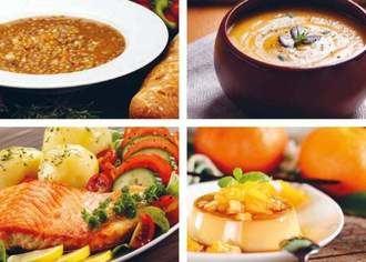 El comedor externo para mayores ofrece dietas diseñadas por geriatras y nutricionistas