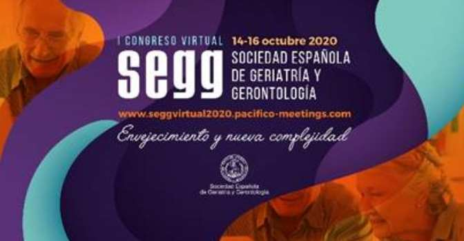 El congreso virtual de la SEGG debatirá sobre envejecimiento en tiempos de pandemia.