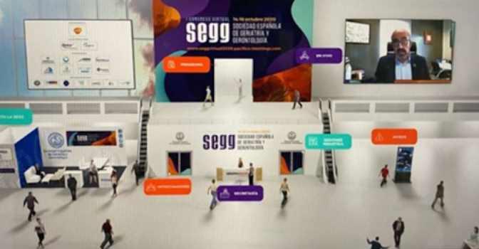El I Congreso Virtual de la SEGG debate los cuidados a personas mayores durante la pandemia