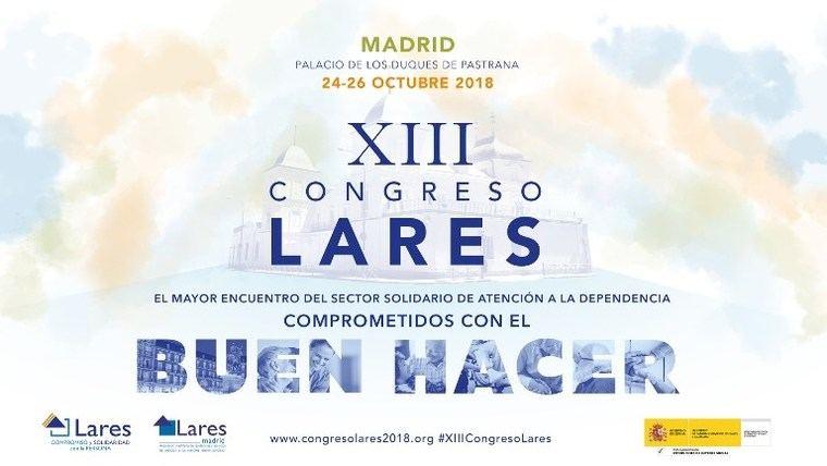 Lares celebra su XIII Congreso Nacional en Madrid del 24 al 26 de octubre