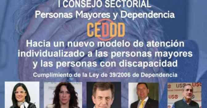 Arranca el I Consejo Sectorial de Personas Mayores y Apoyos a la Dependencia de CEDDD.