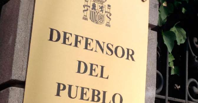 El Defensor del Pueblo pide mejoras en las residencias de mayores en su memoria de 2019.