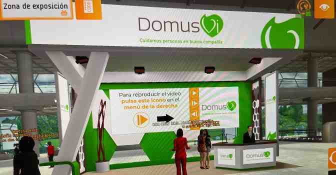 DomusVi participa en la Feria de Empleo de Cruz Roja