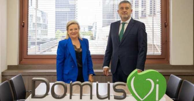 DomusVi releva a Josefina Fernández y nombra en su lugar a José María Pena