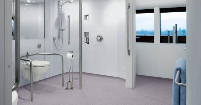 Los suelos de Altro se adaptan a cualquier estancia del centro que los utilice gracias a su versatilidad y facilidad para mantenerlos e instalarlos.