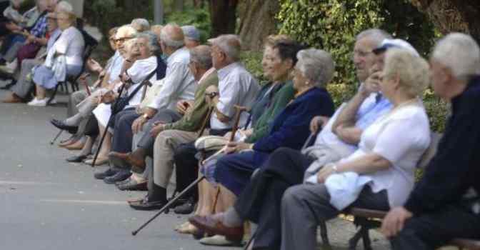 Así es el envejecimiento de la población española
