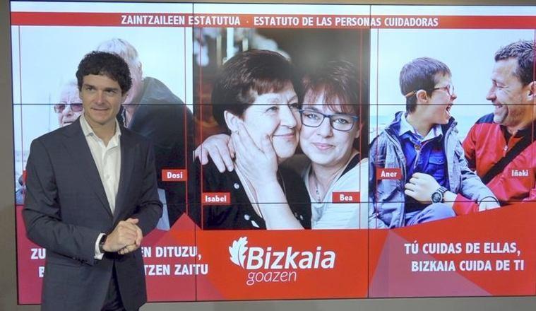 Vizcaya impulsa un Estatuto de las Personas Cuidadoras que les ayuda a cotizar para su jubilación