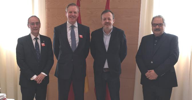 Reunión de FED con el consejero de Políticas Sociales de la Comunidad de Madrid