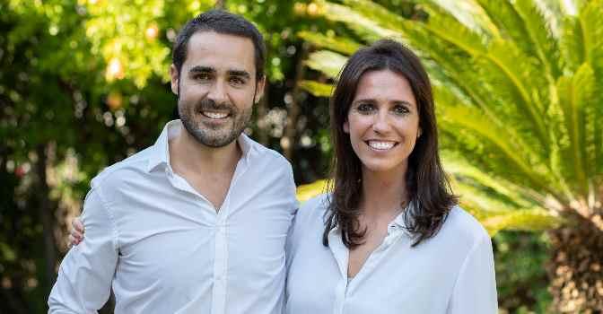 Guillermo Molina y Marta Cuesta son cofundadores del Grupo Felizvita.