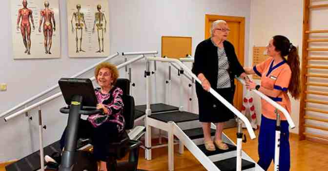 Recuperación de fractura de cadera en residencias de mayores es cada vez más frecuente.