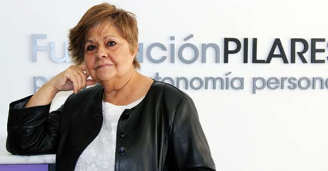 Fundación Caser financia un proyecto de Pilar Rodríguez, presidenta de la Fundación Pilares.
