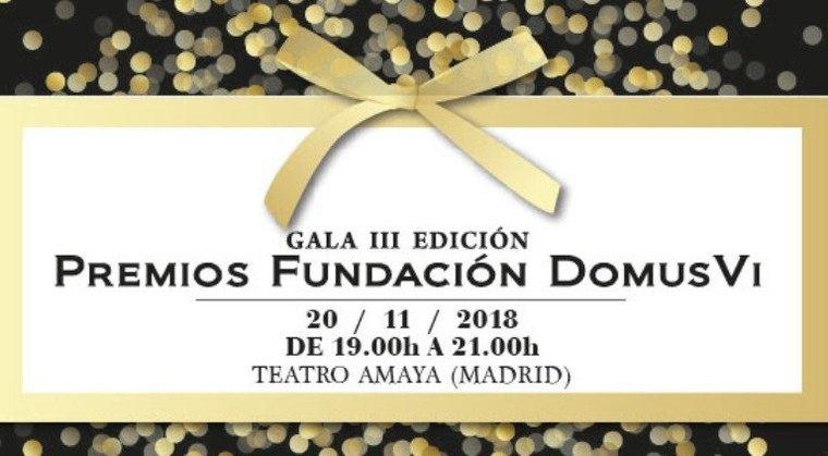 Abierta la inscripción para la Gala de los Premios DomusVi dotados con más de 44.000 euros
