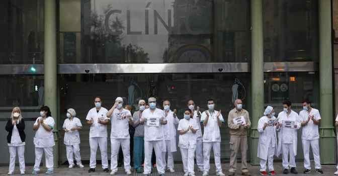 Cataluña dará una paga extra a los héroes de la lucha contra el coronavirus