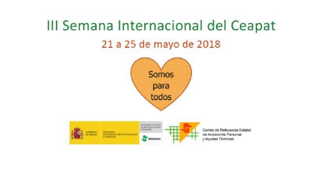 """III Semana Internacional Ceapat 2018, """"Somos para todos"""""""