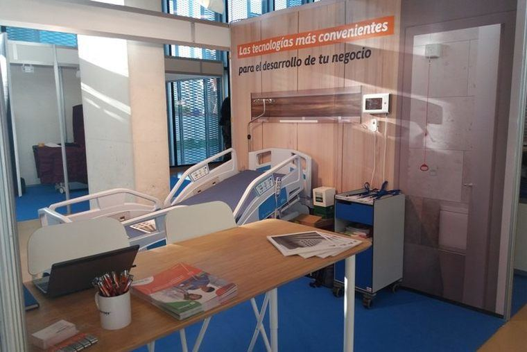 Ibernex y Pardo acuden al Congreso Nacional de Ingeniería Hospitalaria con expositor y presentación propios