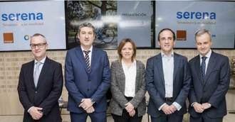 """Ilunión Sociosanitario y Orange presentan nuevo servicio de teleasistencia en movilidad """"Serena"""""""
