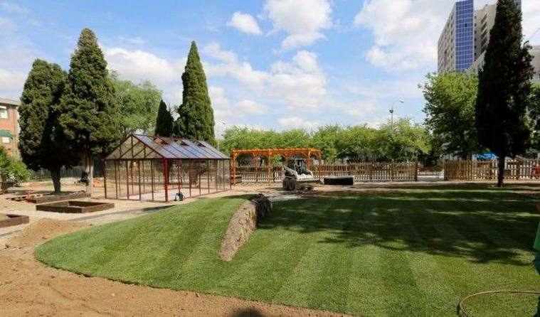 Un jardín terapéutico prevendrá la dependencia en el municipio madrileño de Coslada