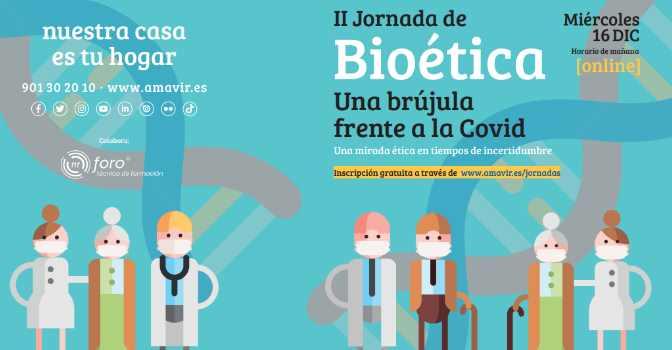 Amavir celebra una Jornada de Bioética centrada en la COVID