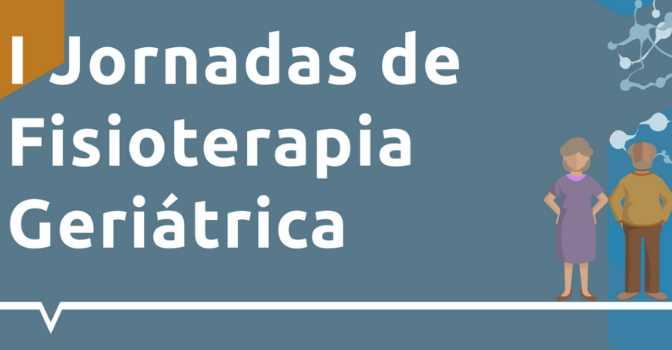 Jornadas de Fisioterapia Geriátrica especializada en trastornos neurocognitivos el próximo 2 de octubre.