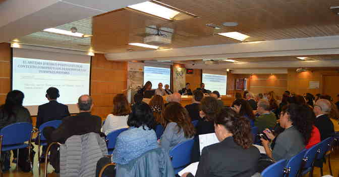 UDP celebra las I Jornadas Internacionales sobre Maltrato y Abusos a Personas Mayores, en Madrid.