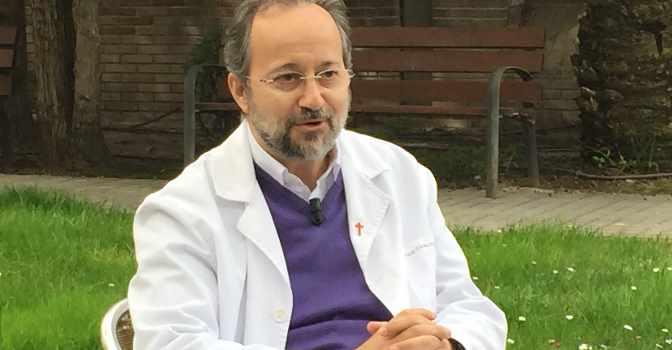 """José Carlos Bermejo: """"Los cuidados paliativos son la respuesta más amable de la humanidad ante el final"""""""