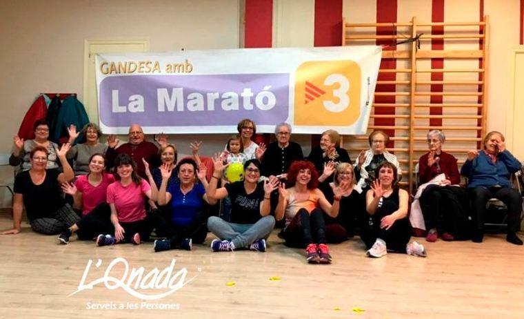 L'Onada Serveis celebra acciones solidarias en residencias como la de Gandesa, Tarragona