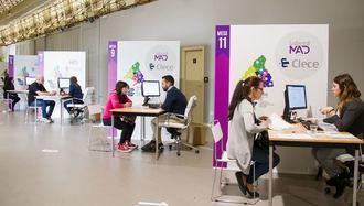 Laboral MAD de Clece ha recogido más de 1.200 currículums para próximas selecciones de personal