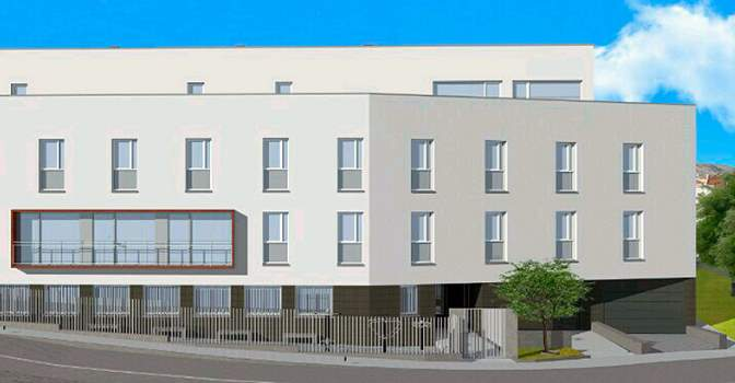 Lanjarón Salud, la nueva residencia para mayores de Avita en Andalucía.