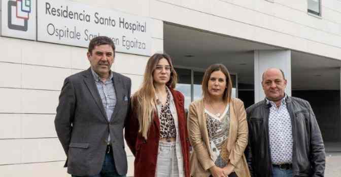 Lares y Gesinor protegerán a empleados sociosanitarios en Navarra.