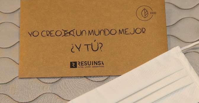 Mascarillas higiénicas reutilizables de Resuinsa cumplen con la nueva normativa