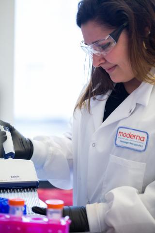 Visto en Internet. Primeros resultados positivos de la vacuna de Moderna Therapeutics contra el coronavirus