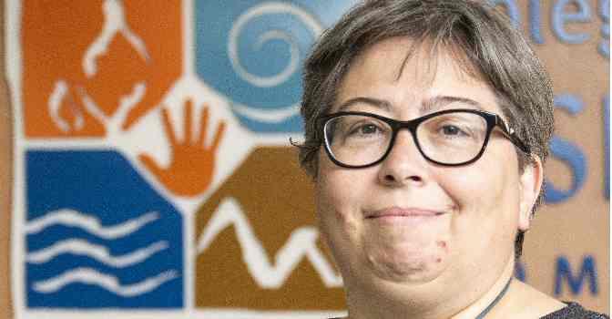 Olga Cures, tesorera del Colegio Profesional de Fisioterapeutas de la Comunidad de Madrid.