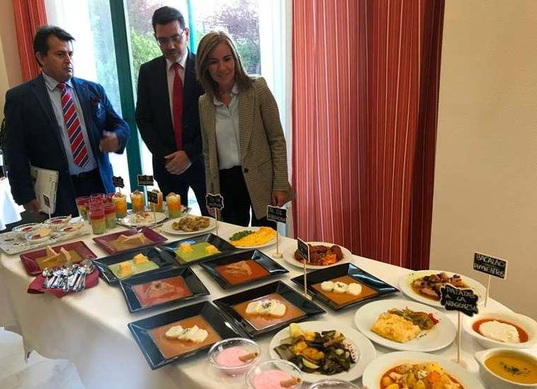 La comida texturizada motiva la visita a Orpea de Rabaneda