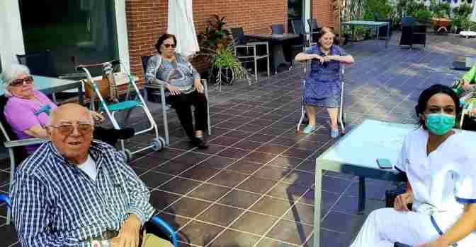 Orpea inicia la desescalada de sus residencias de mayores.