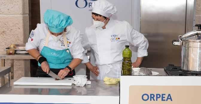 V Torneo de Cocina de Orpea premia a residencia de mayores en El Campello, Alicante.