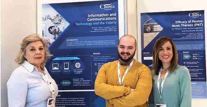 Orpea ha presentado proyectos de innovación en musicoterapia y uso de TICs en mayores.